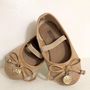 Michael kor girl's baby shoes 6